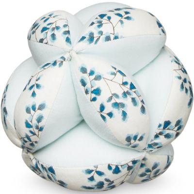 Balle de préhension Fiori bleu  par Cam Cam Copenhagen