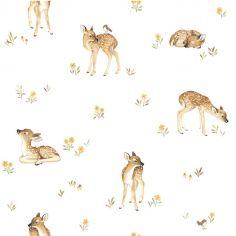 Papier peint intissé Oh deer faon (10 m)