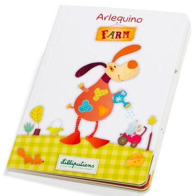Livre jeu Arlequino ferme  par Lilliputiens