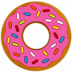 Jouet de dentition Donut rose