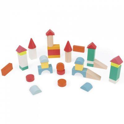Blocs de construction Kubix (40 cubes)  par Janod