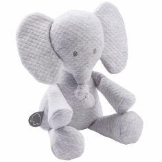 Peluche Tembo l'éléphant gris (32 cm)
