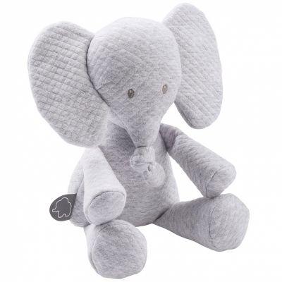 Peluche Tembo l'éléphant gris (32 cm)  par Nattou