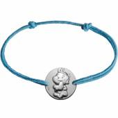 Bracelet cordon enfant Rêveur (argent 925°) - La Fée Galipette