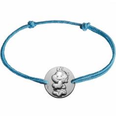 Bracelet cordon enfant Rêveur (argent 925°)