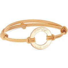 Bracelet maman Eternity personnalisable (plaqué or)
