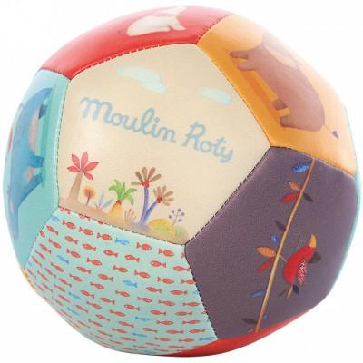 Balle souple Les Papoum  par Moulin Roty