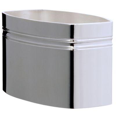 Rond de serviette Lien ''Une Gorge'' personnalisable (métal argenté) dans son coffret  par Daniel Crégut