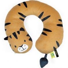 Coussin cale-tête tigre