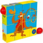 Puzzle cubes cirque (16 cubes) - Scratch