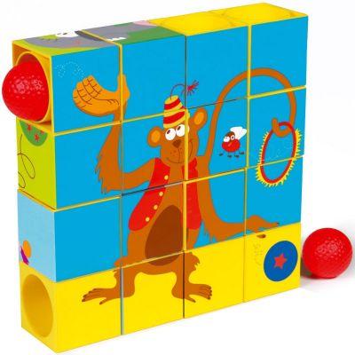 Puzzle cubes cirque (16 cubes) Scratch