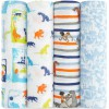 Lot de 4 maxi langes classiques Le livre de la jungle (120 x 120 cm) - Aden + anais