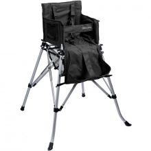 Chaise haute pliante nomade One2Stay noire  par FemStar