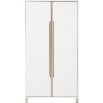 Armoire 2 portes blanc Céleste  par Galipette