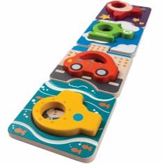 Puzzle véhicules