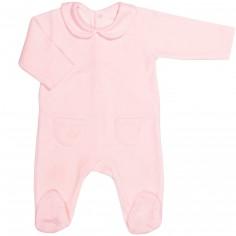 Grenouillère chaude Pink Bows (3 mois : 62 cm)