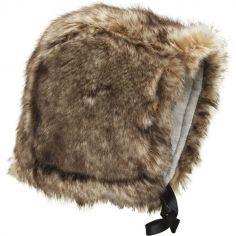 Bonnet chapka fourrure Not Fureal (6-12 mois)