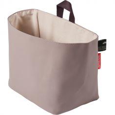 Vide-poches à suspendre en polyester recyclé PET rose
