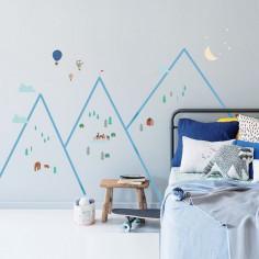 Stickers montagne