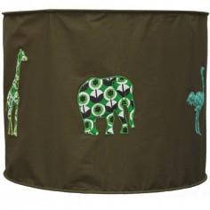 Suspension lampion en tissu Safari