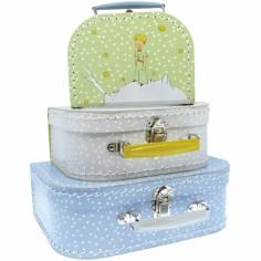 Set de trois valisettes décoratives Le petit prince