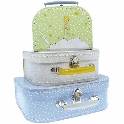 Set de trois valisettes décoratives Le petit prince  par Petit Jour Paris