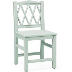 Chaise enfant Harlequin vert sauge
