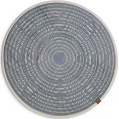 Tapis de jeu rond Sandy Stripe (120 cm)