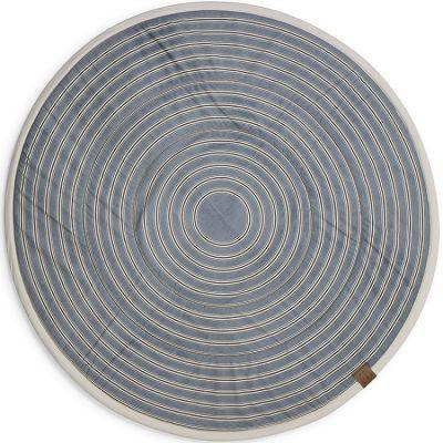 Tapis de jeu rond Sandy Stripe (120 cm)  par Elodie Details