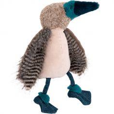 Peluche Oiseau fou à pieds bleus Tout autour du monde (39 cm)