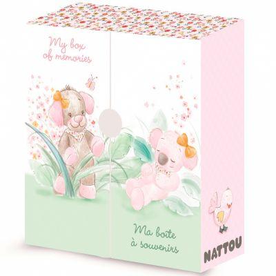 Ma boîte à souvenirs Iris & Lali Nattou