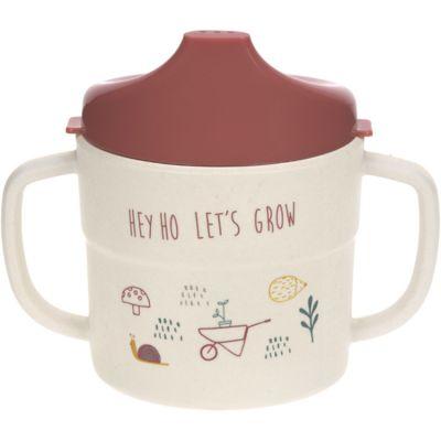 Tasse d´apprentissage Hey ho let's grow rose Garden Explorer  par Lässig