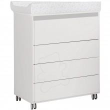 commode langer avec baignoire neus blanche et grise. Black Bedroom Furniture Sets. Home Design Ideas