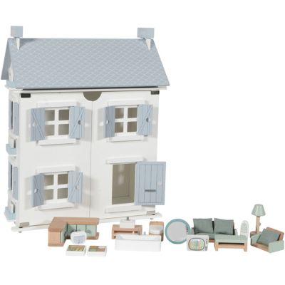 Maison de poupée blue  par Little Dutch