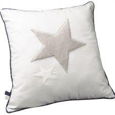 Coussin carré Merlin étoile (30 x 30 cm)