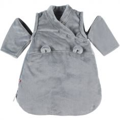 Gigoteuse chaude Groloudoux Mix & Match gris clair TOG 2-3,5 (50 cm)