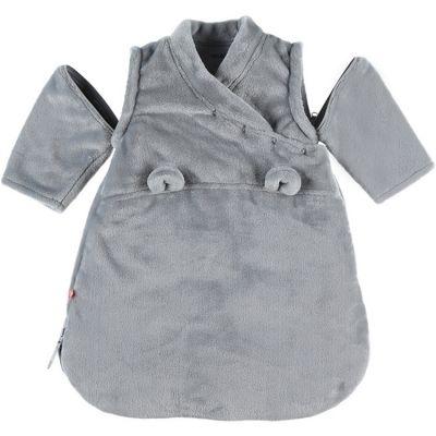 Gigoteuse chaude Groloudoux Mix & Match gris clair TOG 2-3,5 (50 cm)  par Noukie's