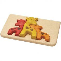Puzzle à encastrement Mon 1er puzzle Girafe (3 pièces)