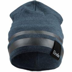 Bonnet microfibre bleu Juniper Blue (0-6 mois)