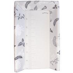 Plan à langer avec matelas gris (pour lits 60 x 120 cm et 70 x 140 cm)