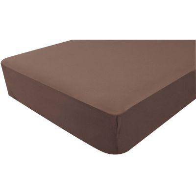 Drap housse jersey marron chocolat (70 x 140 cm)   par Doux Nid
