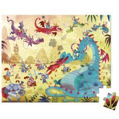 Puzzle dragons (54 pièces)
