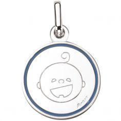 Médaille Petites Bouilles Garçon 16 mm (argent 925°)