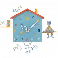 Horloge Alabonneheure Le Loup