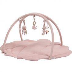Tapis d'éveil avec arches Coquille Ocean pink
