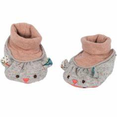 Chaussons Les jolis trop beaux souris (0-6 mois)
