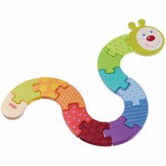 Puzzle Chenille arc-en-ciel (13 pièces)