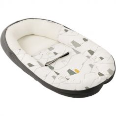 Réducteur de lit en coton bio Cocoon doomoo Ours gris