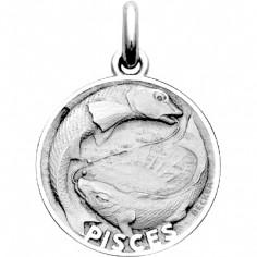 Médaille signe Poisson (argent 925°)
