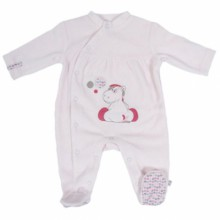 Pyjama chaud funny Lucie (naissance : 50 cm)  par Noukie's